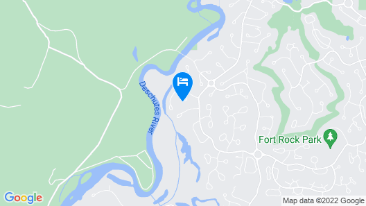 Towhee Lane 5 by Village Properties at Sunriver Map