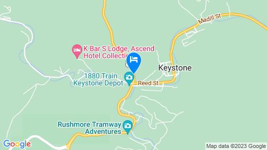 Baymont by Wyndham Keystone Near Mt. Rushmore Map