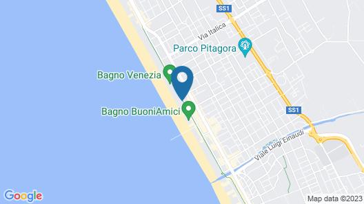 Giulia Hotel Map