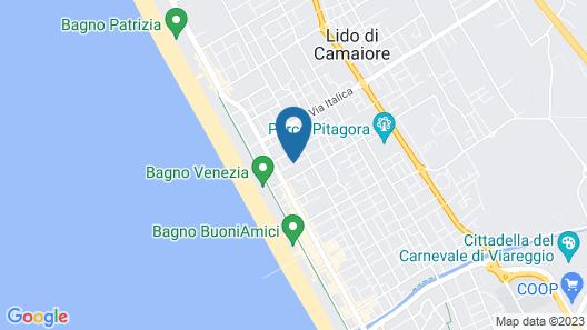Hotel Sylvia Map