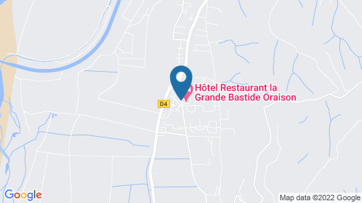 LOGIS La Grande Bastide Map