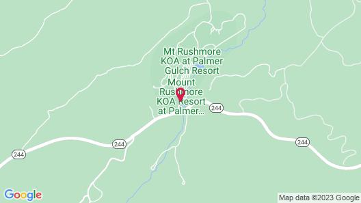 Lodge at Palmer Gulch Map