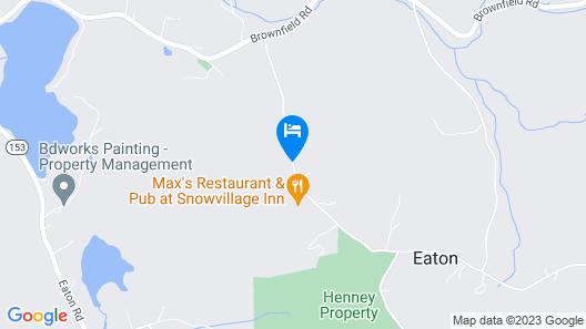 Snowvillage Inn Map