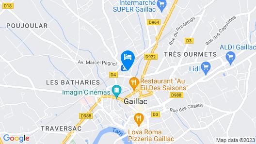 Hôtel l'Occitan Map