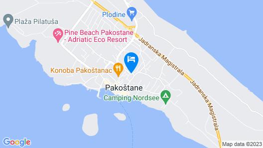Kisas Place Map
