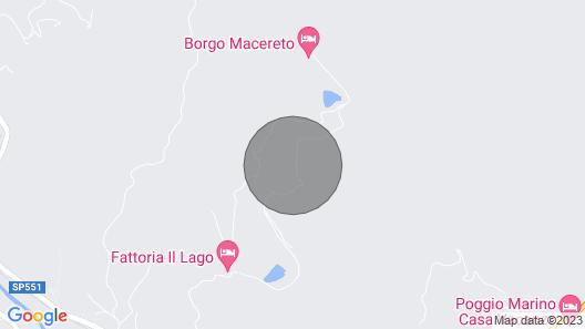 Country Estate Il Lago, Dicomano Map