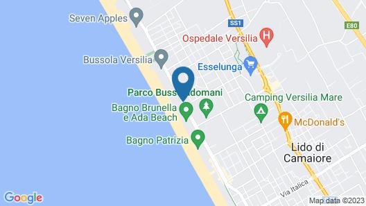 Hotel Ristorante Bixio Map