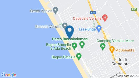 Park Hotel Villa Ariston Map