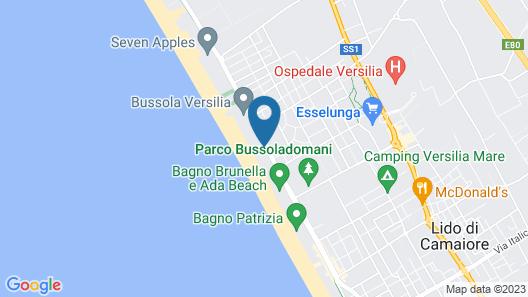 Versilia Lido | UNA Esperienze Map