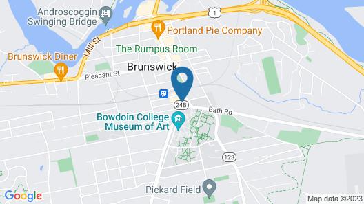 The Brunswick Hotel Map