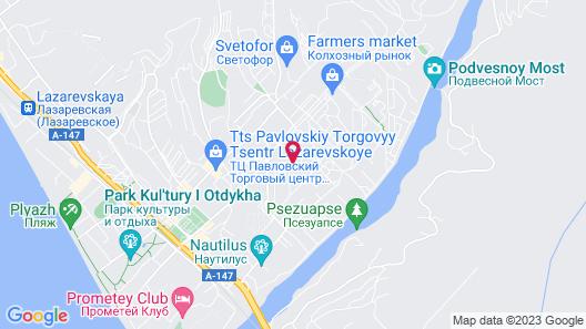 Pyatnica Hotel Map