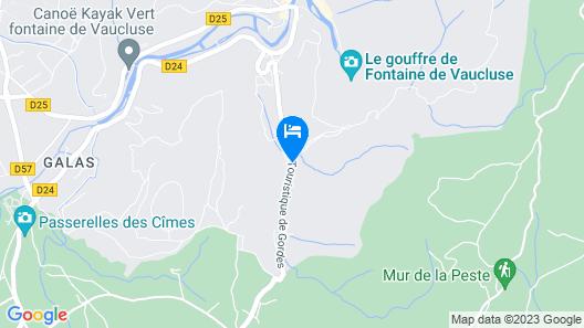 Bastide De La Lézardière Map