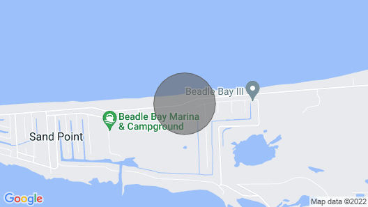 Enjoy a lake front cottage in the Thumb of Michigan. A must see!  Map