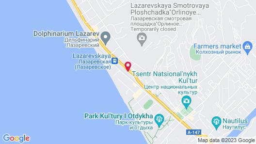 Hotel Oazis Map