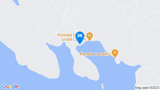 House Tinky - Tkon - Island Pasman Map
