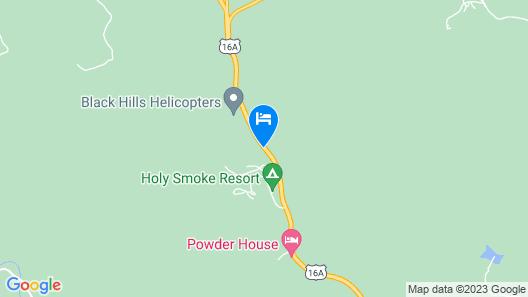 Holy Smoke Resort Map