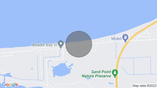 Lilypad - Lakefront Property - Sandpoint - Caseville Michigan - Lake Huron Map