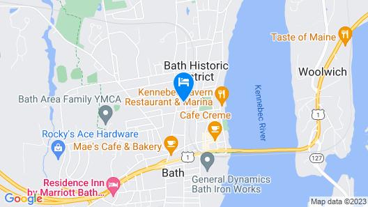 Middle Street Inn Map