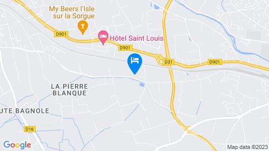 Mas Séraphin  Map