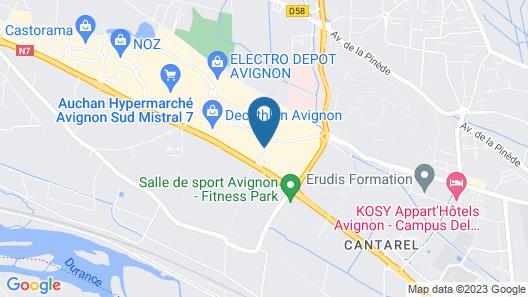 Premiere Classe Avignon Sud - Parc des Expositions Map