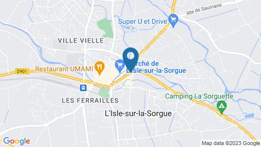 Grand Hôtel Henri Map
