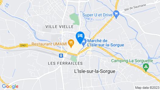 La Maison sur la Sorgue - Esprit de France Map