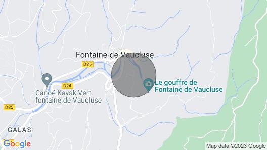 Charmante Maison de Village à Fontaine-de-vaucluse Map