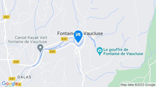 Hotel du Poète Map