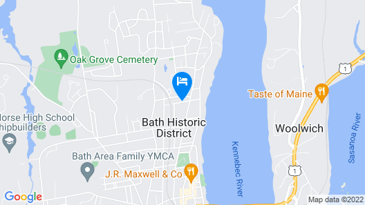 Benjamin F. Packard House Map