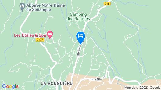 Hôtel Le Petit Palais d'Aglaé Map
