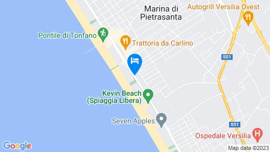 Happy Hotel Map