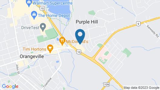 Best Western Plus Orangeville Inn & Suites Map