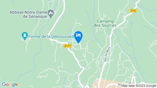 Hotel Les Bories & Spa Map
