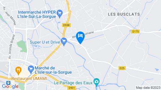 Résidence Lagrange Vacances L'Oustau de Sorgue Map