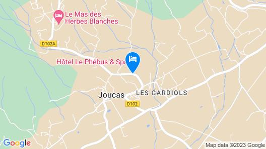 Le Phebus & Spa Map