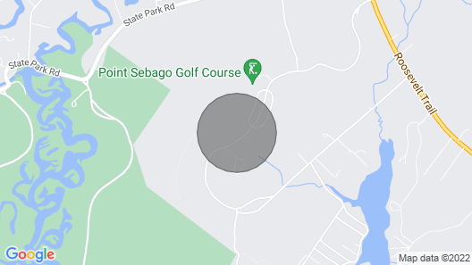 Point Sebago Resort.. Now Renting for 2021 , Wifi Available Map