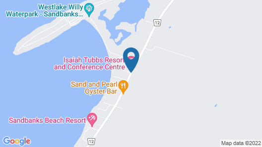 isaiah tubbs Resort and Conference Centre Map