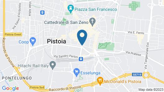Hotel PRime già Hotel Piccolo Ritz Map