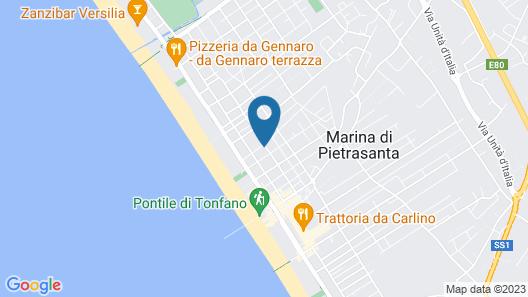 Mondial Resort and Spa Marina di Pietrasanta Map