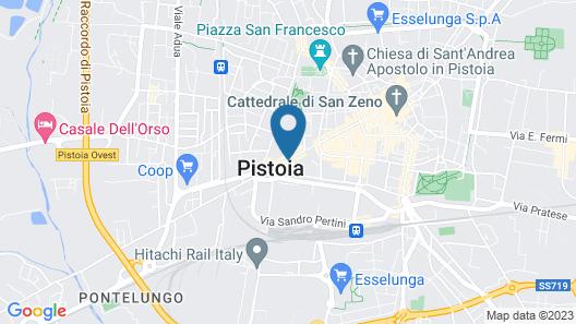 Pistoia Luxury Suite Map
