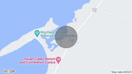 Prince Edward County Vacation-the Sandbanks Summer Laughlin Property- Sleeps 14 Map