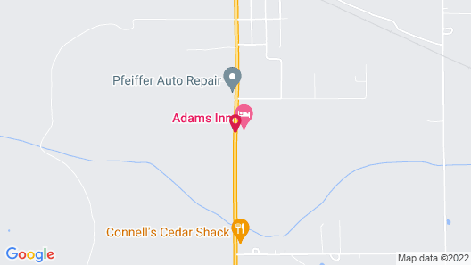 Adams Inn Map