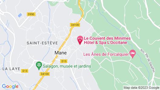 Le Couvent des Minimes - Hotel & Spa Map