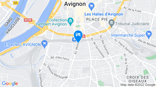 Altera Roma Hotel Map