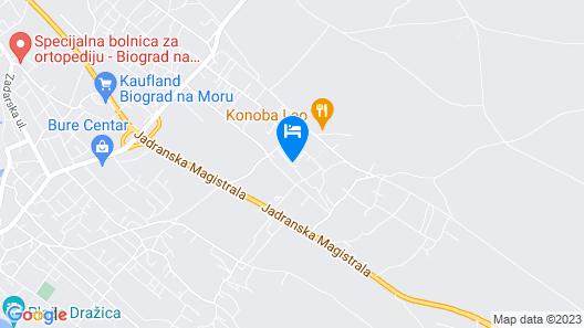 Apartment's Antonio Map
