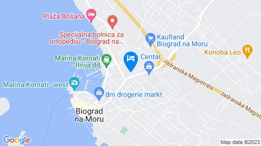 Hotel Bolero Map