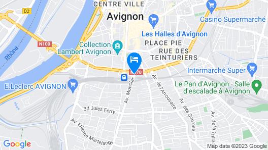 ibis Avignon Centre Gare Map