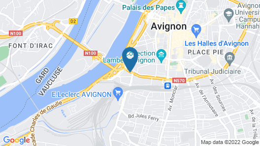ibis budget Avignon Centre Map