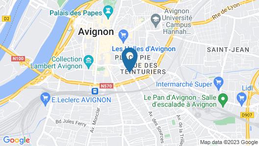 Résidence Les Cordeliers Map
