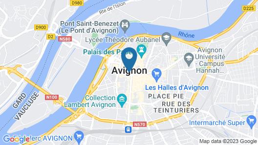 Hotel de l'Horloge Map